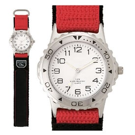 Matte Silver Sports Styles Unisex Watch for Advertising