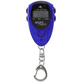 Advertising Sports Timer Keyring