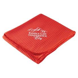 Printed Spring Throw Blanket