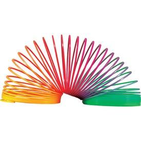 Monogrammed Springer Rainbow Stress Spring