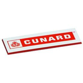 Branded Square Corners Name Badge