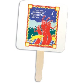 Square Hand Fans