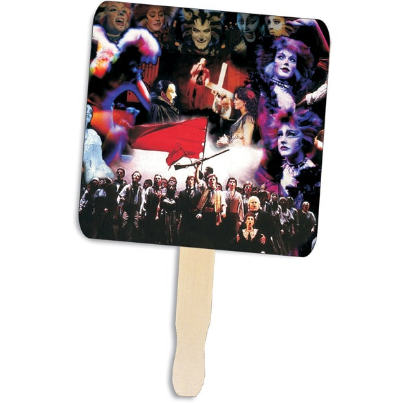 Square Shape Hand Fan
