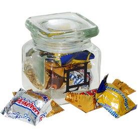 Promotional Square Jar