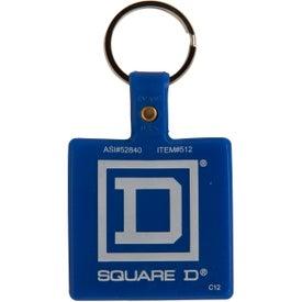 Advertising Square Key Tag