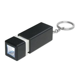 Printed Square LED Key Chain
