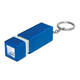 Square LED Key Chain with Your Slogan
