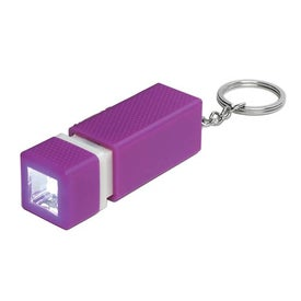 Advertising Square LED Key Chain