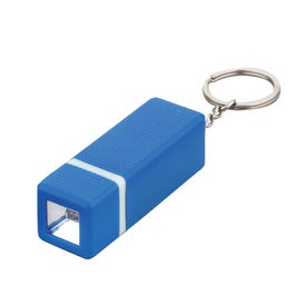 Square LED Keychain for Your Organization