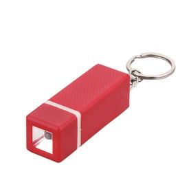 Square LED Keychain for Advertising