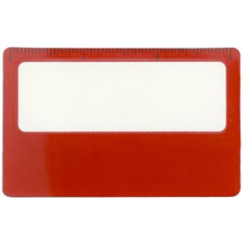 Branded Square Magnifier with Sleeve
