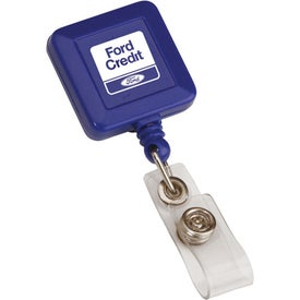 Square Retractable Badge Holder for Your Organization