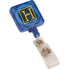 Square Retractable Badge Holder for Your Church