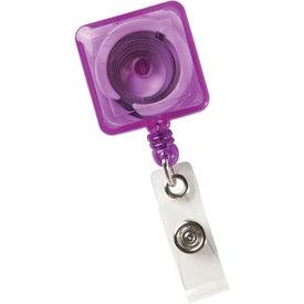 Logo Square Secure-A-Badge Holder