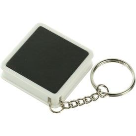 Square Tape Measure Key Tag for Marketing