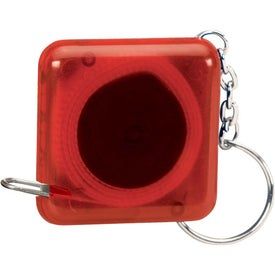 Square Tape Measure Key Holder for Promotion