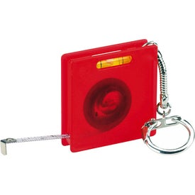 Custom Square Tape Measure Level Keyholder