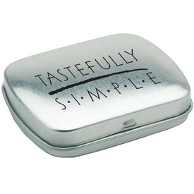 Personalized Square Tin of Mints
