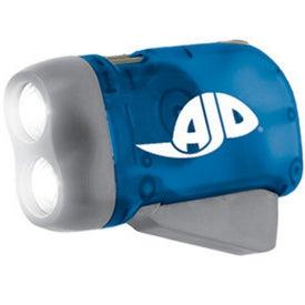 Custom Squeeze Powered Flashlight