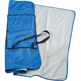 Game Day Stadium Blanket Imprinted with Your Logo