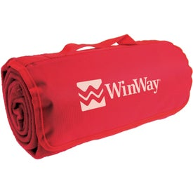 Polyester Stadium Blanket Printed with Your Logo