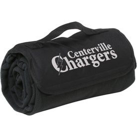 Polyester Stadium Blanket Branded with Your Logo