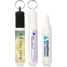 Stain Remover with Key Ring for Customization