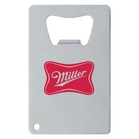 Stainless Credit Card Bottle Opener for Your Company