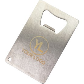 Stainless Credit Card Bottle Opener