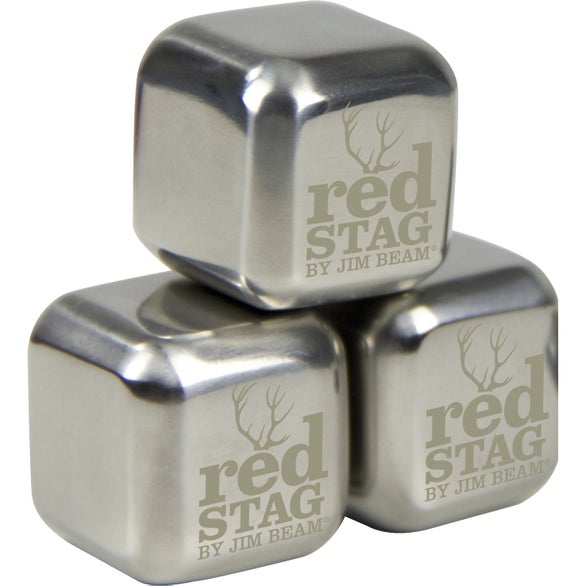 Silver Stainless Steel Beverage Cube