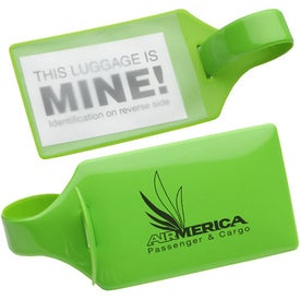 Standard Bag Tag with Your Logo
