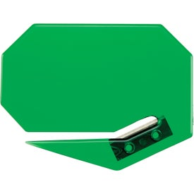Standard Keystone Cutter with Magnetic Strip Imprinted with Your Logo