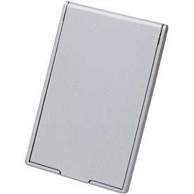 Monogrammed Stand-Up Pocket Mirror