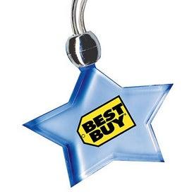 Blue Light Pendant Necklace for Customization