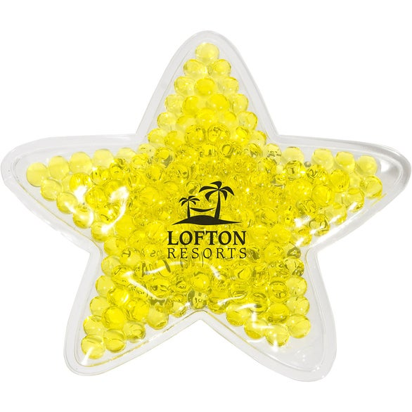 Yellow Star Hot and Cold Pack