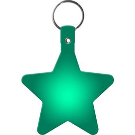 Star Key Tag with Your Logo