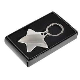 Star Metal Keychain with Your Logo