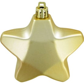 Star Ornaments Printed with Your Logo