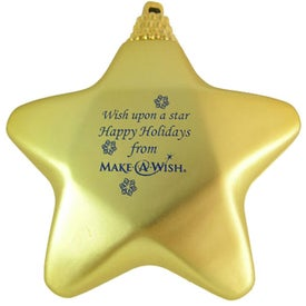 Star Ornaments for Promotion