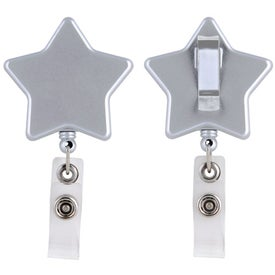 Star Retractable Badge Holder Giveaways
