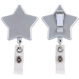 Star Retractable Badge Holder Giveaways