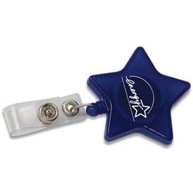 Star Retractable Badge Holder for Marketing