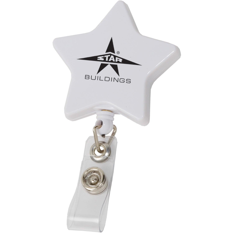 Retractable Star Badge Holder