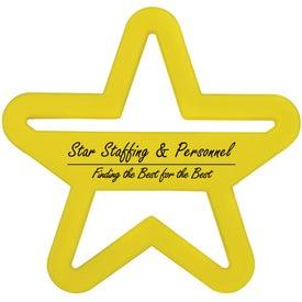 Monogrammed Star Cookie Cutter