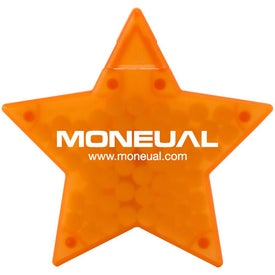 Branded Star Shaped Credit Card Mints