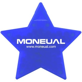 Star Shaped Credit Card Mints for Promotion