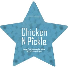 Star Shaped Credit Card Mints