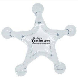 Star Shaped Massager for Promotion