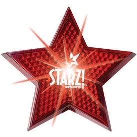 Monogrammed Star Strobe Red