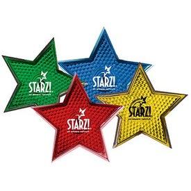 Monogrammed Star Strobe Yellow